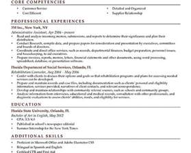 Resume Experience Past Present Tense Past Or Present Tense In Resume Sles Of Resumes