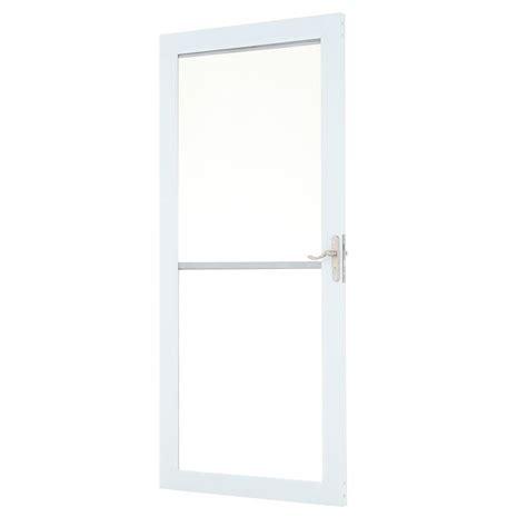 Andersen 3000 Door by Andersen 36 In X 80 In 3000 Series White Universal Self