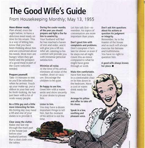 Good Housewife Guide | free fallin a good wife s guide from the good
