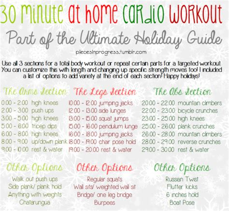 30 minute at home cardio workout hiit
