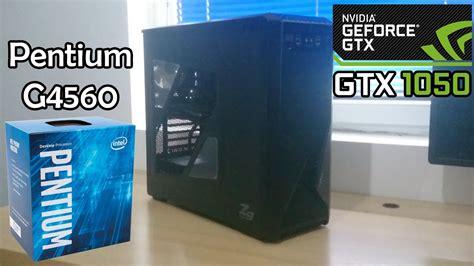 Pc Rakit Pentium G4560 X Gtx 1050 2gb Oc Murmerr pc build pentium g4560 msi gtx 1050 2gb gaming
