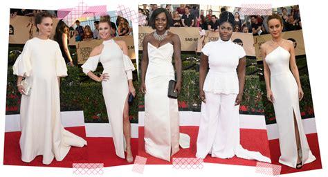 Sag Award Trends Whites 2017 sag awards carpet fashion ideas stylefrizz