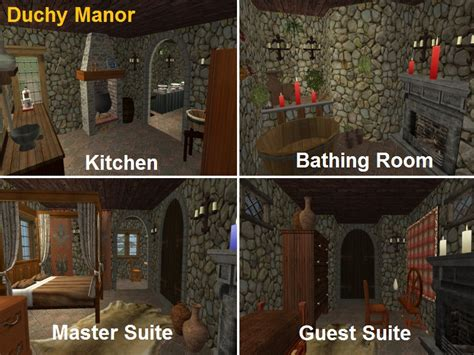 Mod The Sims Gwrych Medieval Apartment Size Furniture Hotel R Best Hotel Deal Site