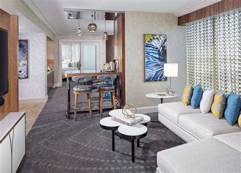 mandalay bay two bedroom suite mandalay bay s remodeled hotel rooms give a beach vibe