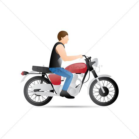 Motorrad Fahren Clipart by Motorbike Vector Image 1548790 Stockunlimited
