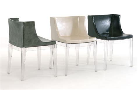 fauteuil mademoiselle fauteuil rembourr 233 mademoiselle cocco structure transparente kartell