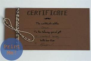 make your own certificate templates the petit cadeau printable gift certificates for