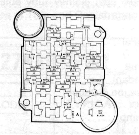 1981 Chevy Truck Fuse Box Diagram Wiring Diagram And
