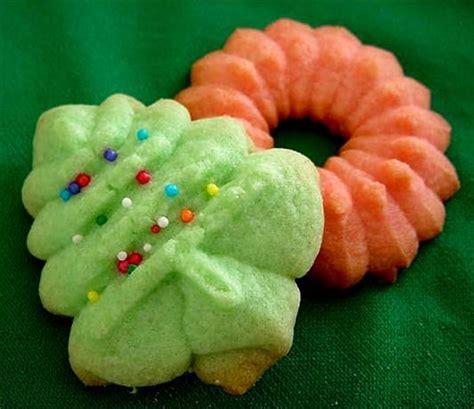 almond spritz press cookies recipe food com