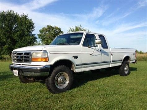 how to work on cars 1996 ford f series electronic valve timing sell used 1996 ford f250 xlt 4x4 7 3 powerstroke diesel rust free clean truck in kewanee