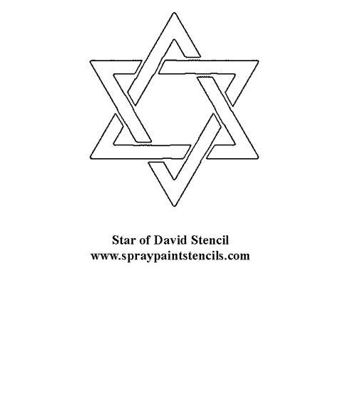star of david stencil stars stencils template by sunflower33 religious stencils page 2