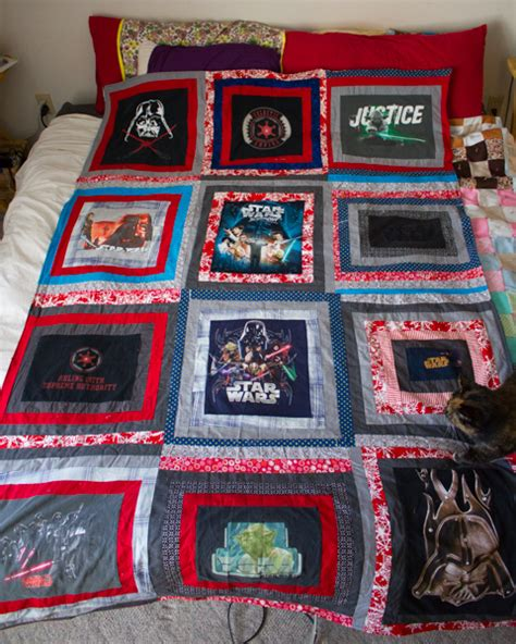 Wars Quilt by Project Show And Tell The Wars T Shirt Quilt That Took Four Years To Make Crafting A