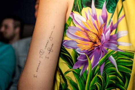 chiara ferragni wrist tattoo my 25th birthday the salad