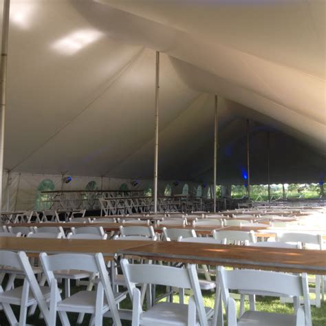 appleton tent and awning tent tables chairs for parish festival in appleton