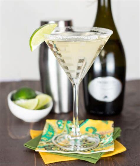 martini prosecco gin elderflower and prosecco cocktail recipe