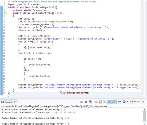 java pattern negative lookahead java program to count positive and negative numbers in an