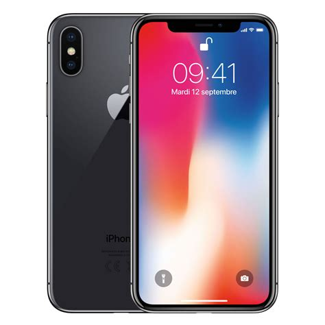 on iphone x apple iphone x 64 go gris sid 233 ral mobile smartphone apple sur ldlc