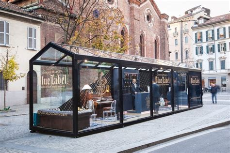 Unique Coffee Gifts by Check Out Johnnie Walker Blue Label S Milan Pop Up Store
