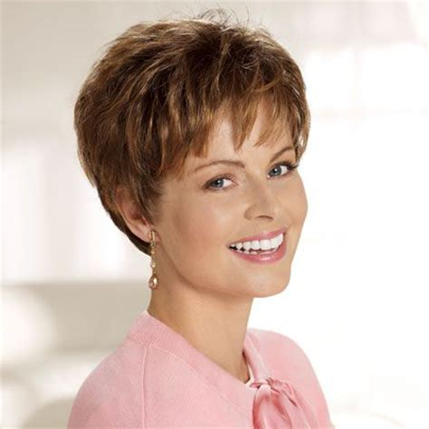 pixie haircut after chemo cancer patients wigs chemo wigs short wigs brown wigs
