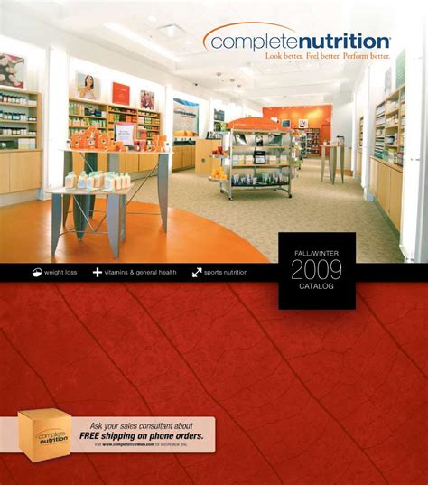 complete nutrition charger complete nutrition catalog fall 2009 by rosa issuu