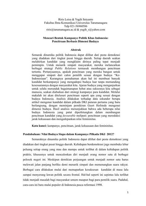 Indonesia Mencari Demokrasi Mochtar Buchori mencari bentuk kanye politik khas pdf available
