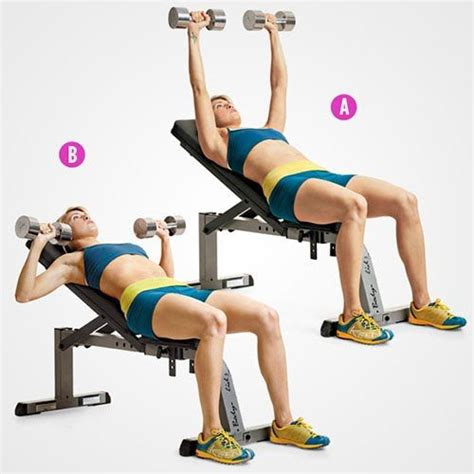 incline bench exercises best 25 incline bench ideas on pinterest bench press workout bench press weights