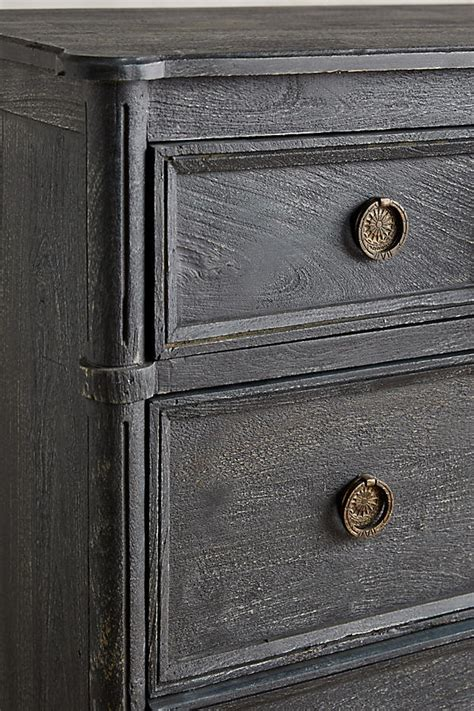 Washed Wood Dresser by Washed Wood Nightstand Anthropologie