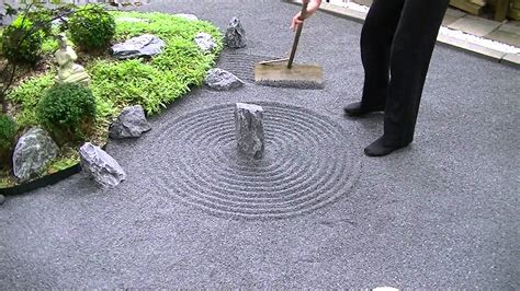 how to create a zen garden japanese zen garden meditation 禅の庭 youtube