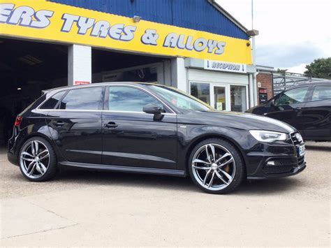 Audi A3 Italia by Foxhunters Tyres On Quot 19 Quot Gmp Italia Atoms Look