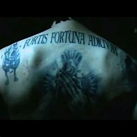 john wick back tattoo font images tagged with adiuvat on instagram