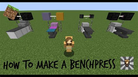minecraft bench minecraft how to make a bench press chibimaplebacon