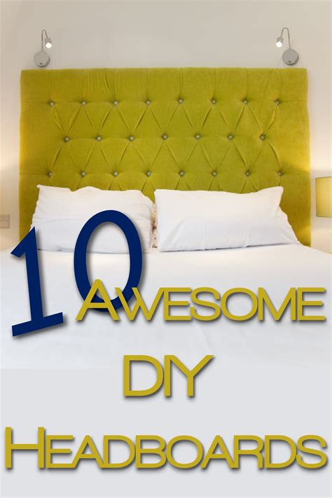 awesome headboards 10 awesome diy headboards you put it up