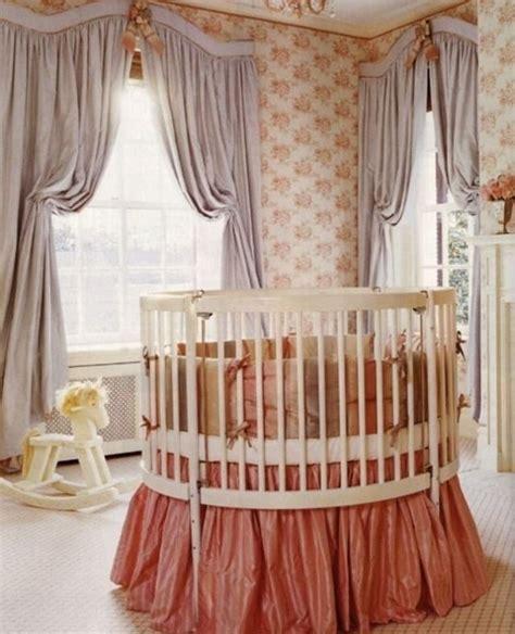 nursery circle crib baby cave the nursery