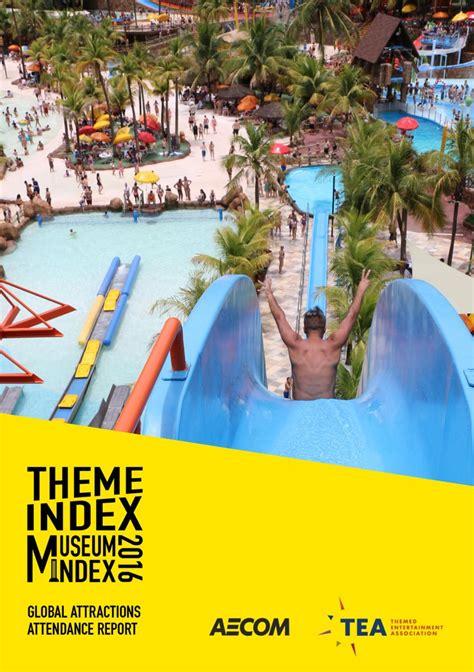 theme park attendance 2017 tea themed entertainment association