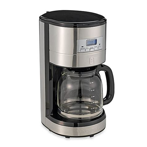 bed bath and beyond coffee makers wolfgang puck 174 12 cup programmable drip coffee maker bed