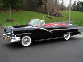 Ford Convertible Cars 1956 Ford Fairlane Sunliner Convertible 96259
