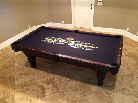 Harley Davidson Pool Table by Best Pool Table Felt Available Through Everything