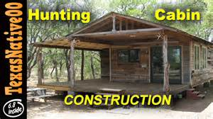 Cheap Hunting Cabin Ideas hunting cabin construction quot tour quot part 1 youtube