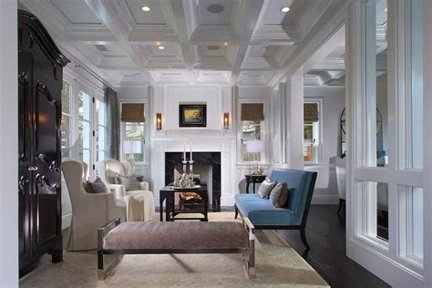 elegant coastal style contemporary custom home  newport