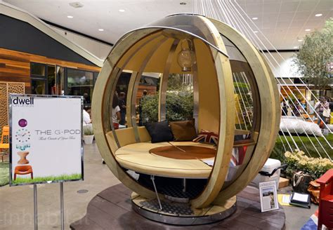 home design events uk the g pod wins best outdoor product at dwell on design