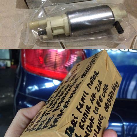 Fuel Filter Bensin Model Besar Peugeot 405 update kiriman spare parts beberapa hari ini kamilmotor