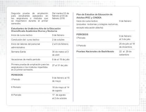 calendario pago hacienda 2016 costa rica calendario escolar mep 2015 costa rica