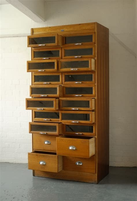 Vintage Haberdashery cabinet of drawers Modern Room 20th Century Design