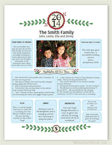 Best 25 Christmas Newsletter Ideas On Pinterest Christmas Letters Holiday Emails And Exle Letter Newsletter Template