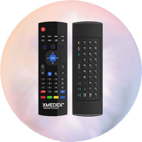 android air xmedex pro remote with air mouse keyboard mic voice command xmedex australia