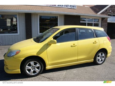 yellow toyota 2004 solar yellow toyota matrix xr 60656908 gtcarlot