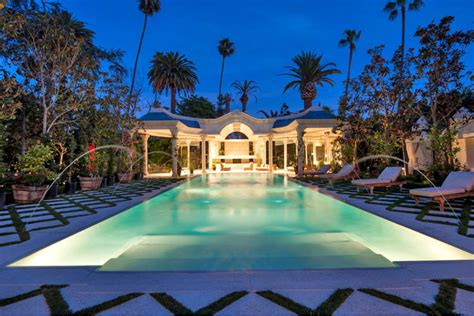 Luxury Mansions Floor Plans by Mohamed Hadid Lists 48 000 Square Foot Beverly Hills Mega