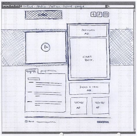 20 exles of web and mobile wireframe sketches