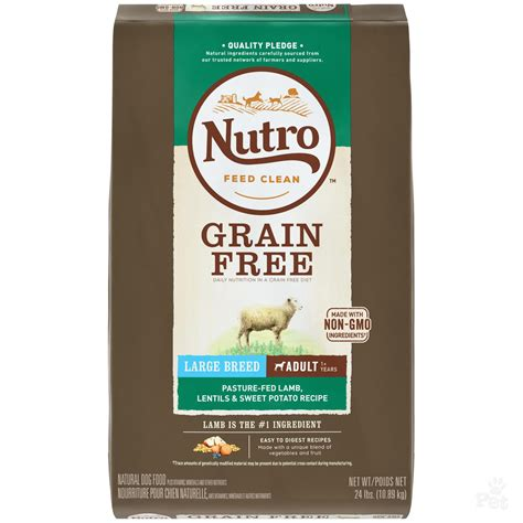 nutro treats nutro grain free large breed lentils sweet potato