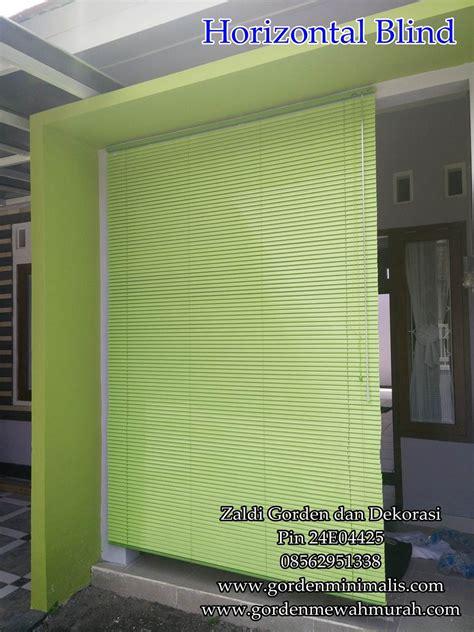 Horizontal Blind Untuk Kantor harga horizontal blind murah berkualitas kami juga